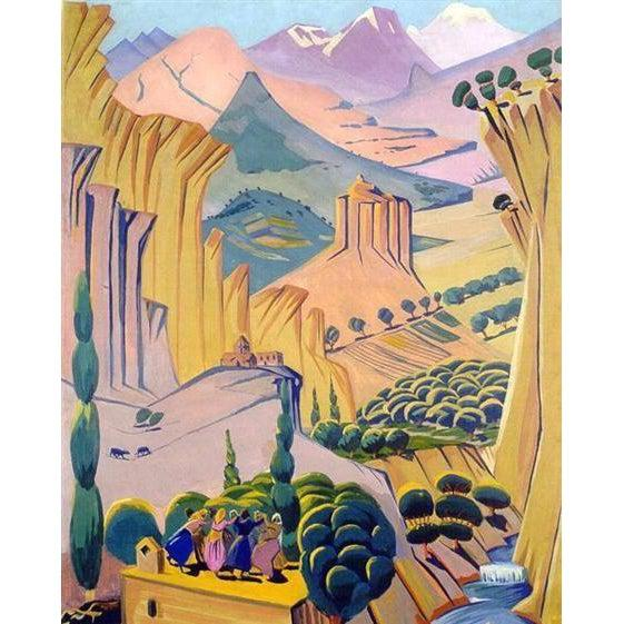 Armenia - Martiros Sarian - 1923 - Paint by Numbers Kit