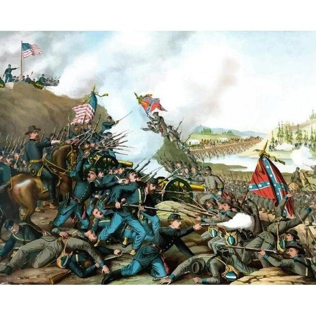 Battle of Franklin - 1864 - Paint by Numbers Kit