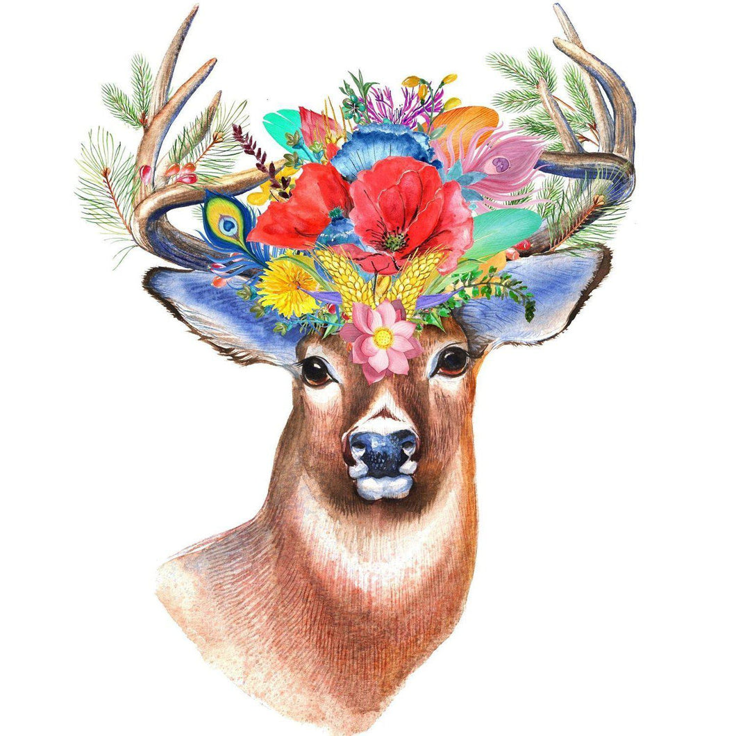 Budding Buck - Paint by Numbers Kit