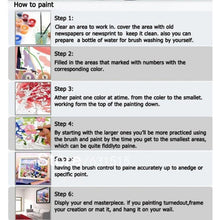 DIY Paint by Number kit for Adults on Canvas-Busy Day In London-40x50cm (16x20inches)