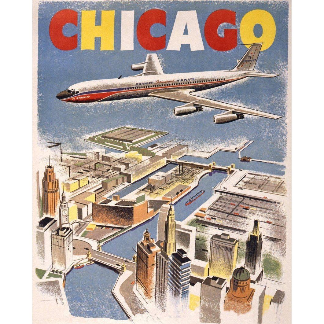 Chicago Bound - Paint by Numbers Kit