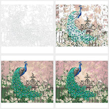 Elegant Peacock - Paint by Numbers Kit