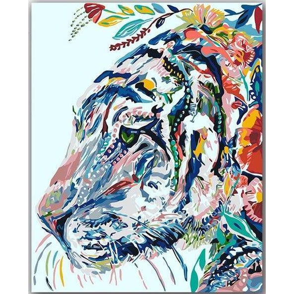 Florid Tiger - Paint by Numbers Kit