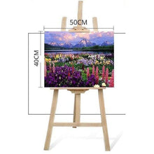 DIY Paint by Number kit for Adults on Canvas-Grand Teton-40x50cm (16x20inches)
