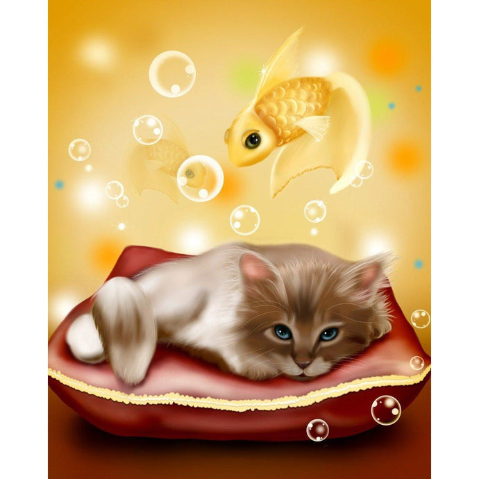 Kitten Dreams - Paint by Numbers Kit