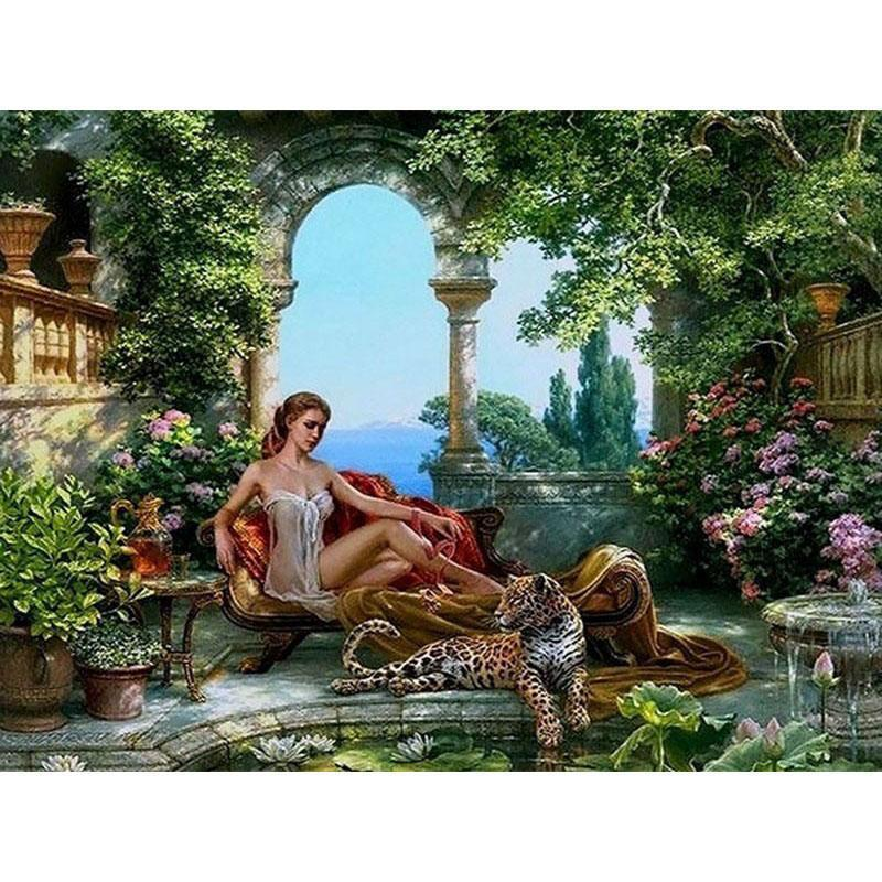Leopard Queen - Paint by Numbers Kit