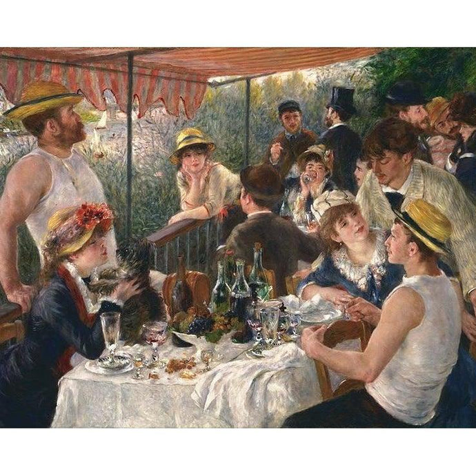 DIY Paint by Number kit for Adults on Canvas-Luncheon of the Boating Party - Pierre Auguste Renoir - 1881-Home