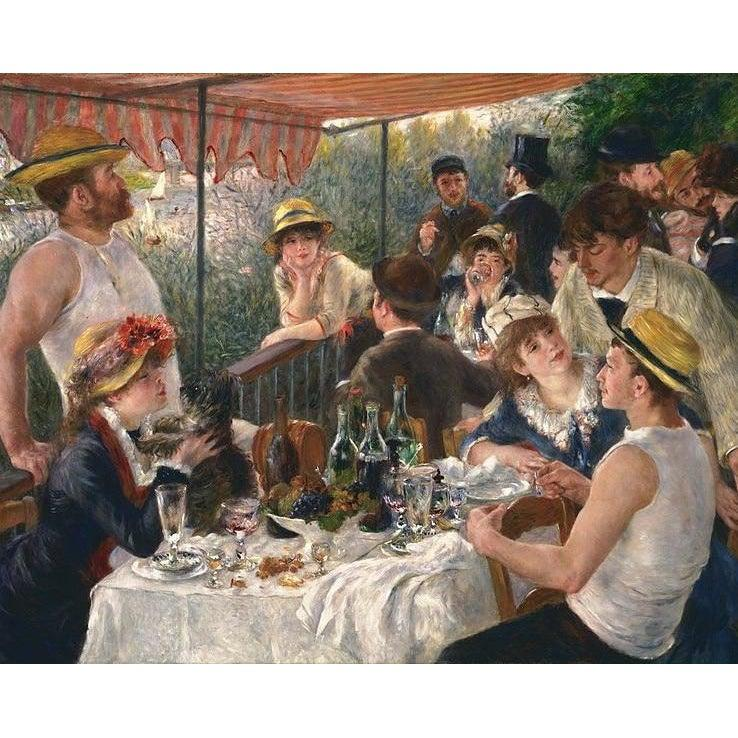 Luncheon of the Boating Party - Pierre Auguste Renoir - 1881 - Paint by Numbers Kit