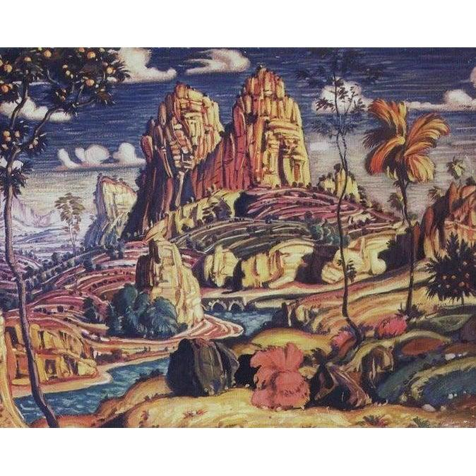 DIY Paint by Number kit for Adults on Canvas-Memories of Mantegna - Konstantin Bogaevsky - 1910-