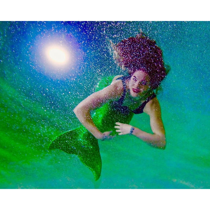 DIY Paint by Number kit for Adults on Canvas-Mermaid Sighting-Clean PBN