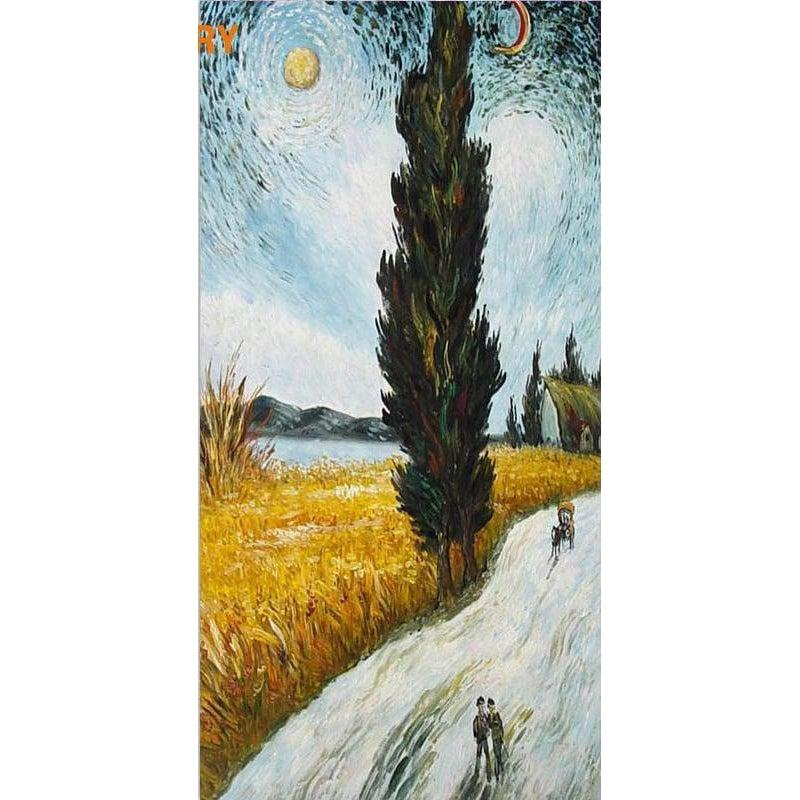 Moons Light Walk [EXTRA Large Print] - Paint by Numbers Kit