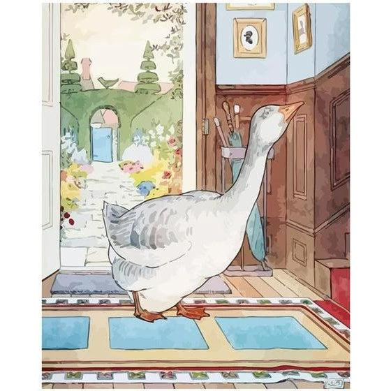 Mother Goose - Paint by Numbers Kit