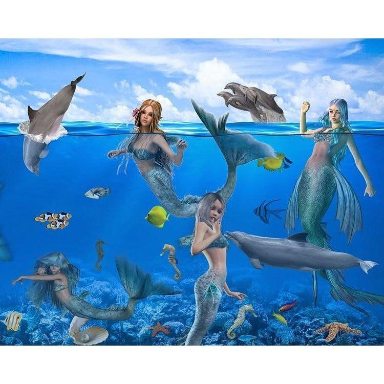 Mystical Mermaids - Paint by Numbers Kit