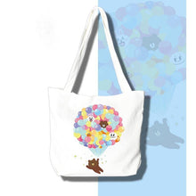 DIY Paint by Number kit for Adults on Canvas-[NEW] Bear and Balloons Teddy - Tote Bag-Home