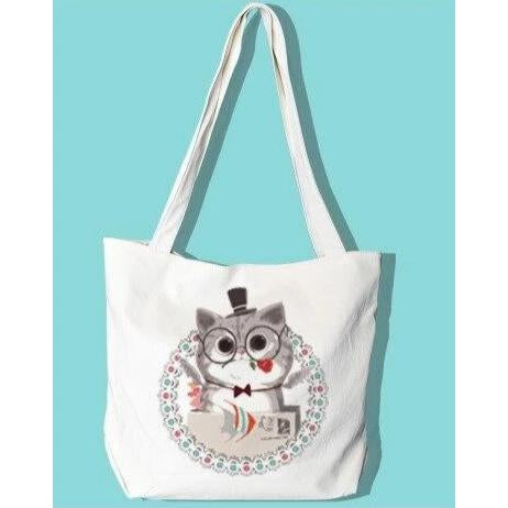 [NEW] Top Hat Cat - Tote Bag - Paint by Numbers Kit