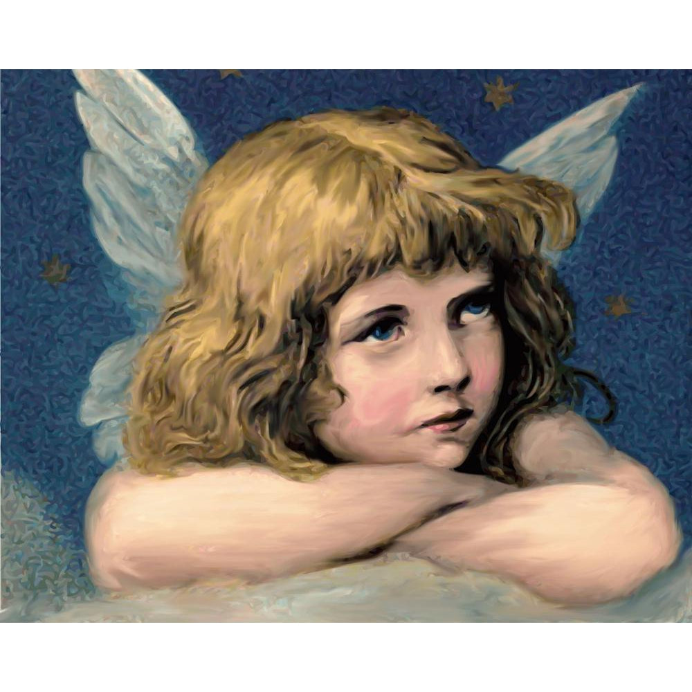 Reflecting Angel - Paint by Numbers Kit