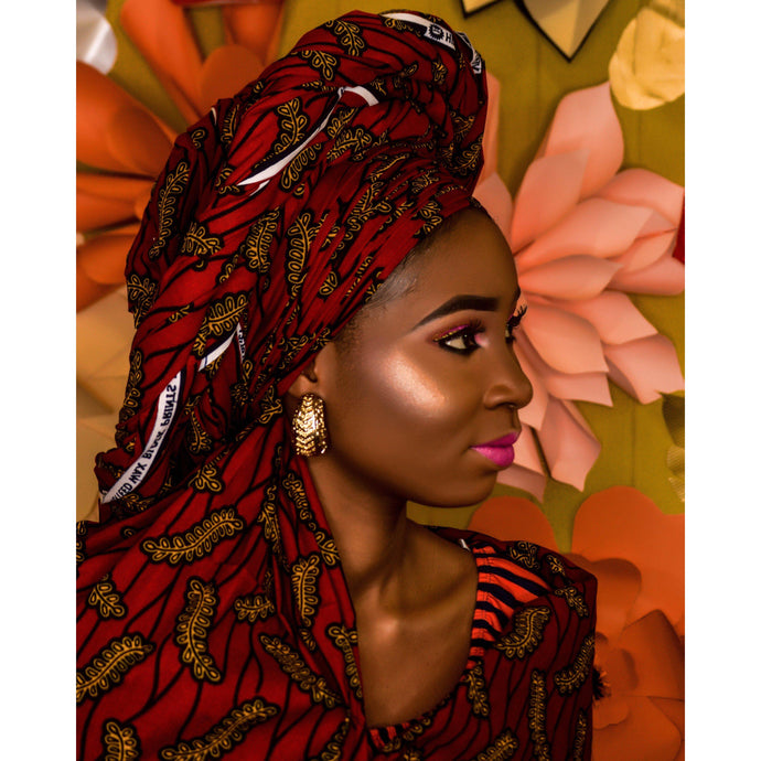 DIY Paint by Number kit for Adults on Canvas-[Ships from USA] African Beauty-Paint By Number