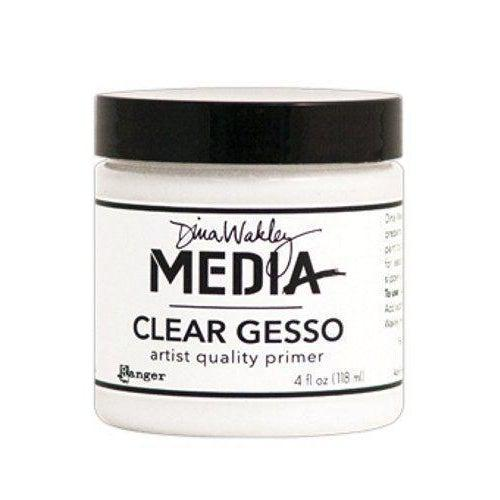 [Ships from USA] Clear Gesso - Artist Quality Canvas Primer - Paint by Numbers Kit