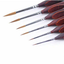 DIY Paint by Number kit for Adults on Canvas-[Ships from USA] Professional Artist Paint Brushes - 6 Pcs-
