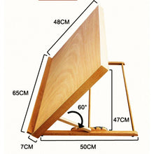 "[Ships from USA] Tabletop Adjustable Easel - 26""x19"" (65x48cm) - Paint by Numbers Kit"