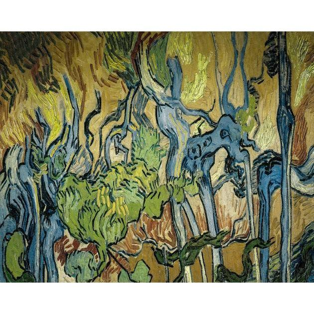 DIY Paint by Number kit for Adults on Canvas-[Ships from USA] Tree Roots - Van Gogh - 1890-