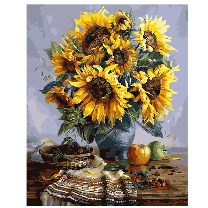 SunFlower Bouquet - Paint by Numbers Kit