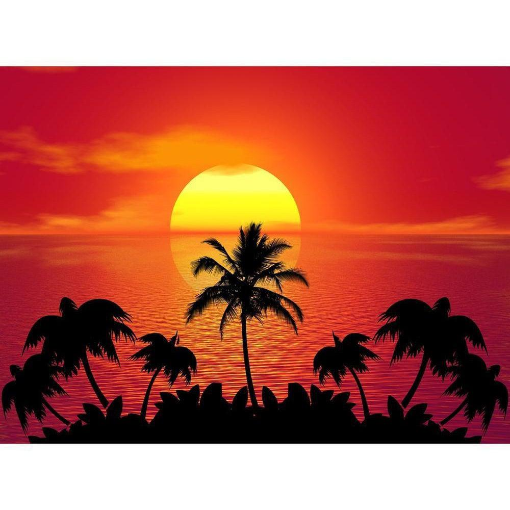 Sunset in Paradise - Paint by Numbers Kit