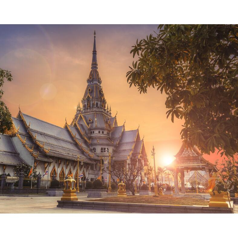 Thailand Temple - Paint by Numbers Kit