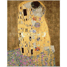 DIY Paint by Number kit for Adults on Canvas-The Kiss - Gustav Klimt-Clean PBN