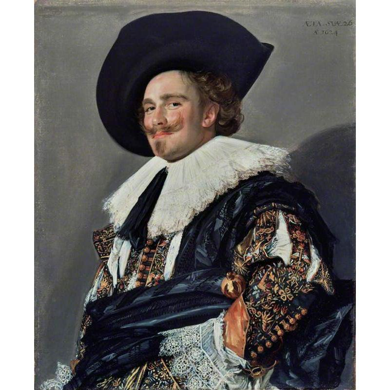 The Laughing Cavalier - Frans Hals - 1624 - Paint by Numbers Kit