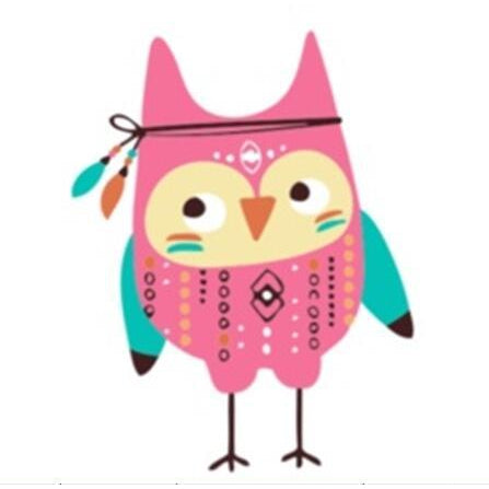 Tribal Baby Owl - [Tiny Print] - Paint by Numbers Kit