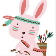 Tribal Bunny - [Tiny Print] - Paint by Numbers Kit