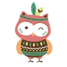 Tribal Owl - [Tiny Print] - Paint by Numbers Kit