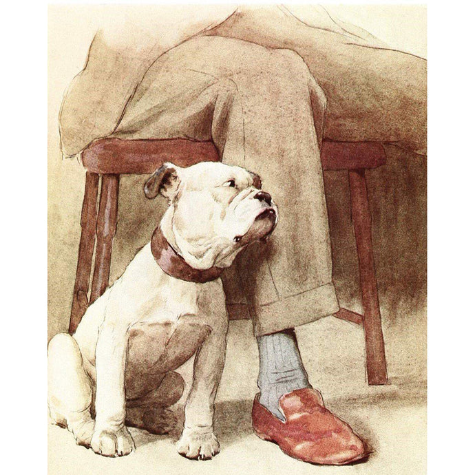 DIY Paint by Number kit for Adults on Canvas-Trusty Bulldog-Home