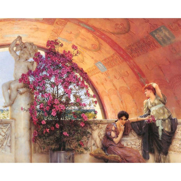 DIY Paint by Number kit for Adults on Canvas-Unconscious Rivals - Lawrence Alma-Tadema - 1893-Home