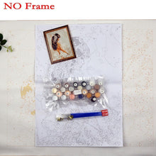 DIY Paint by Number kit for Adults on Canvas-Wedding Day-40x50cm (16x20inches)