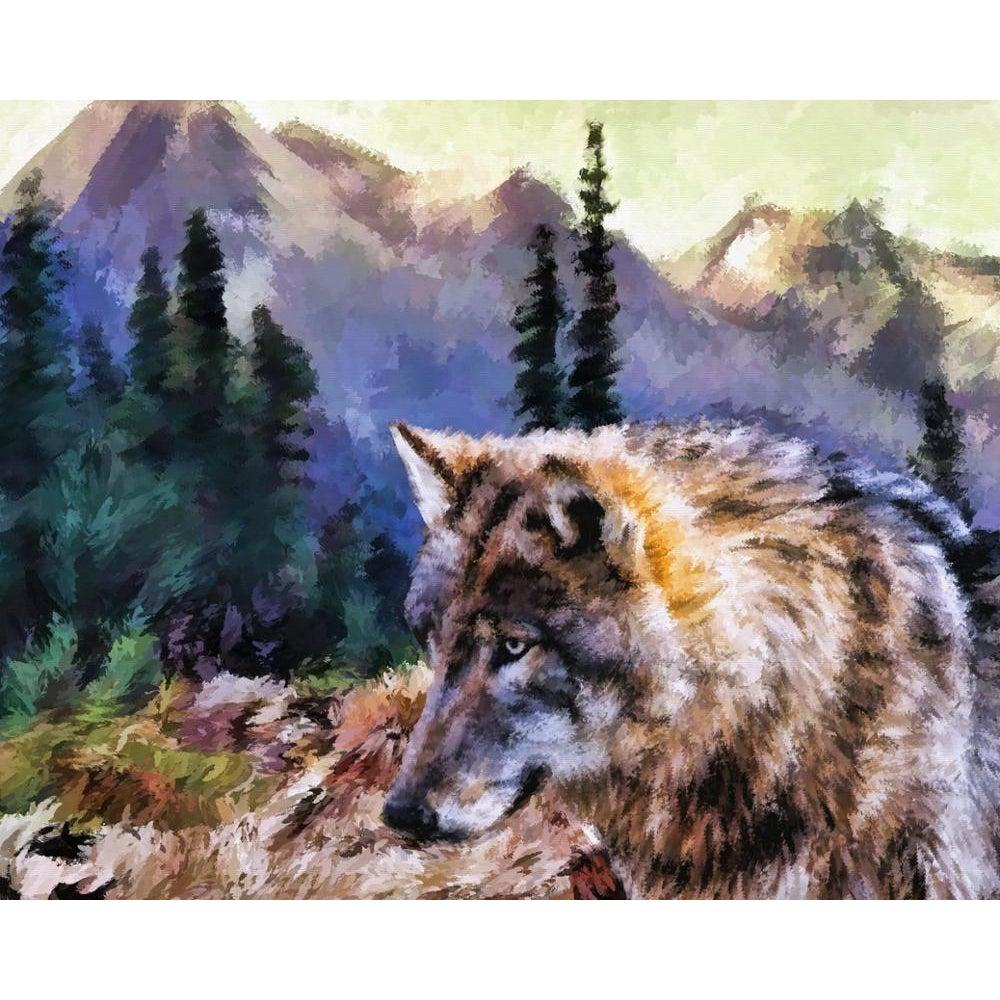 Wolf of Wisdom - Paint by Numbers Kit