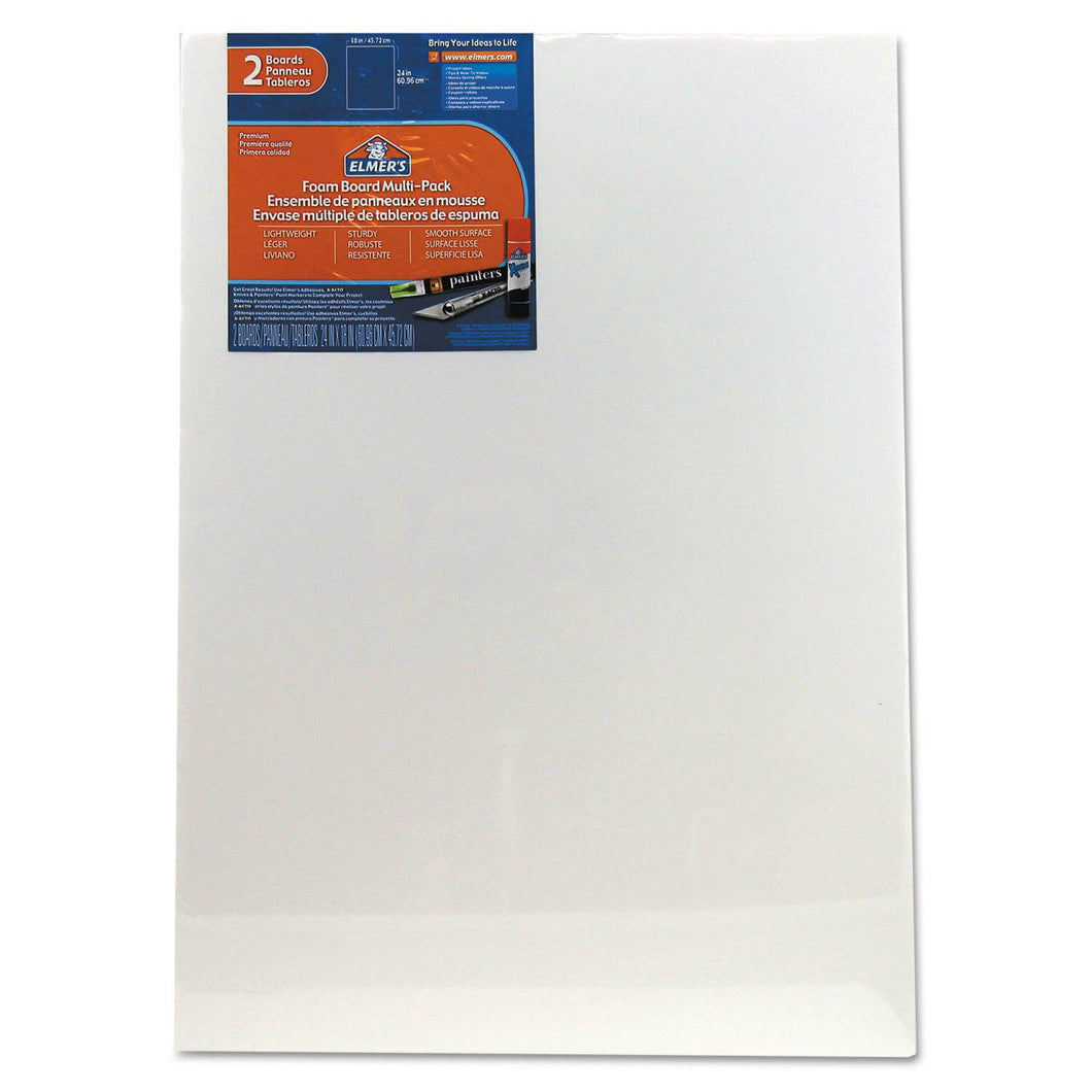 DIY Paint by Number kit for Adults on Canvas-[Ships from USA] Elmers White Foam Board Multi-Pack 18 x 24