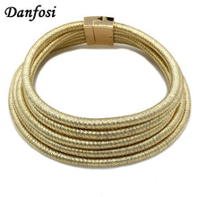 Danfosi New Same Design Kim Kardashian Collar Choker Necklaces For Women Statement Jewelry Maxi Necklaces Boho Accessories N4235