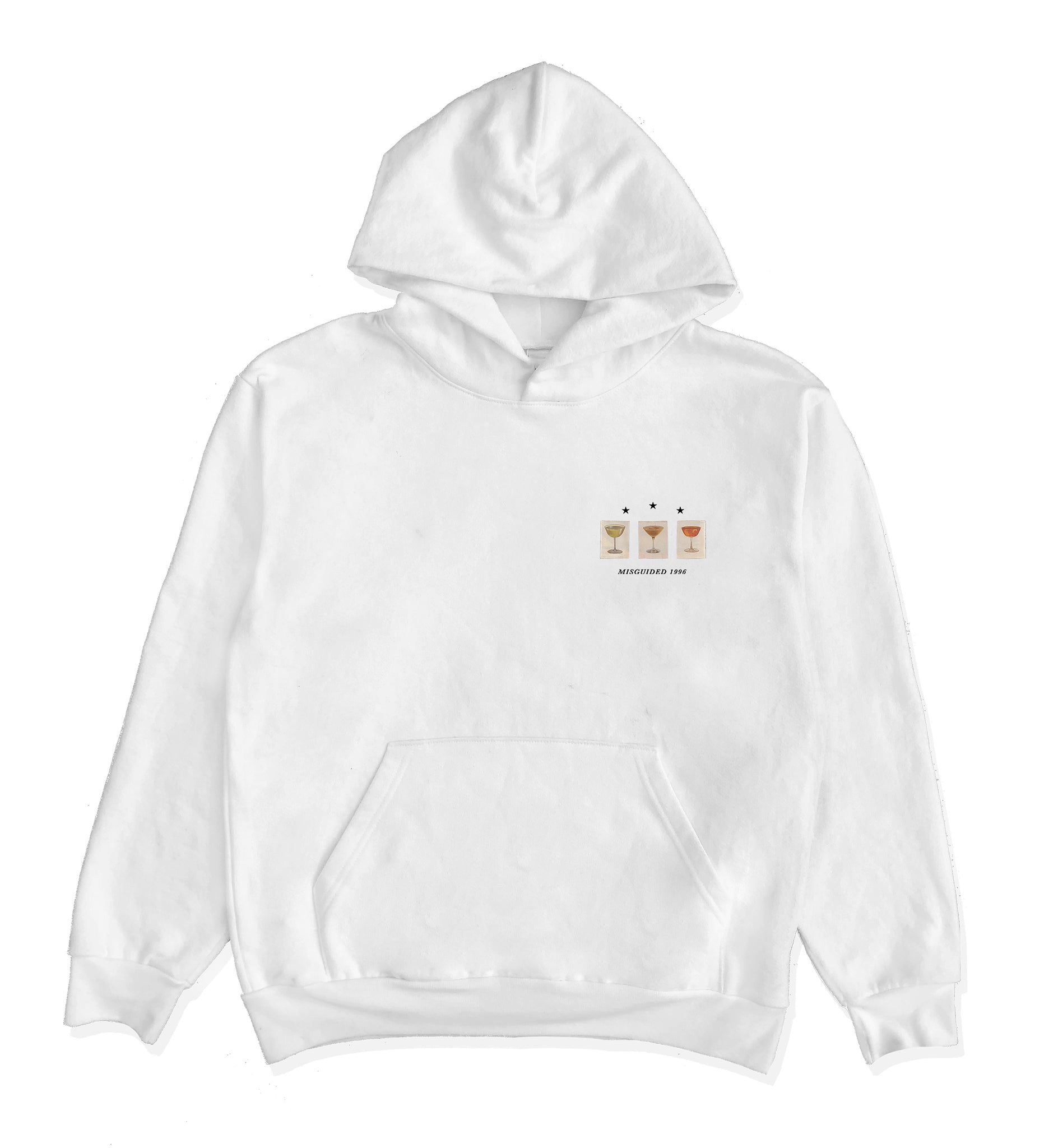 Martini Logo Hooded Sweatshirt