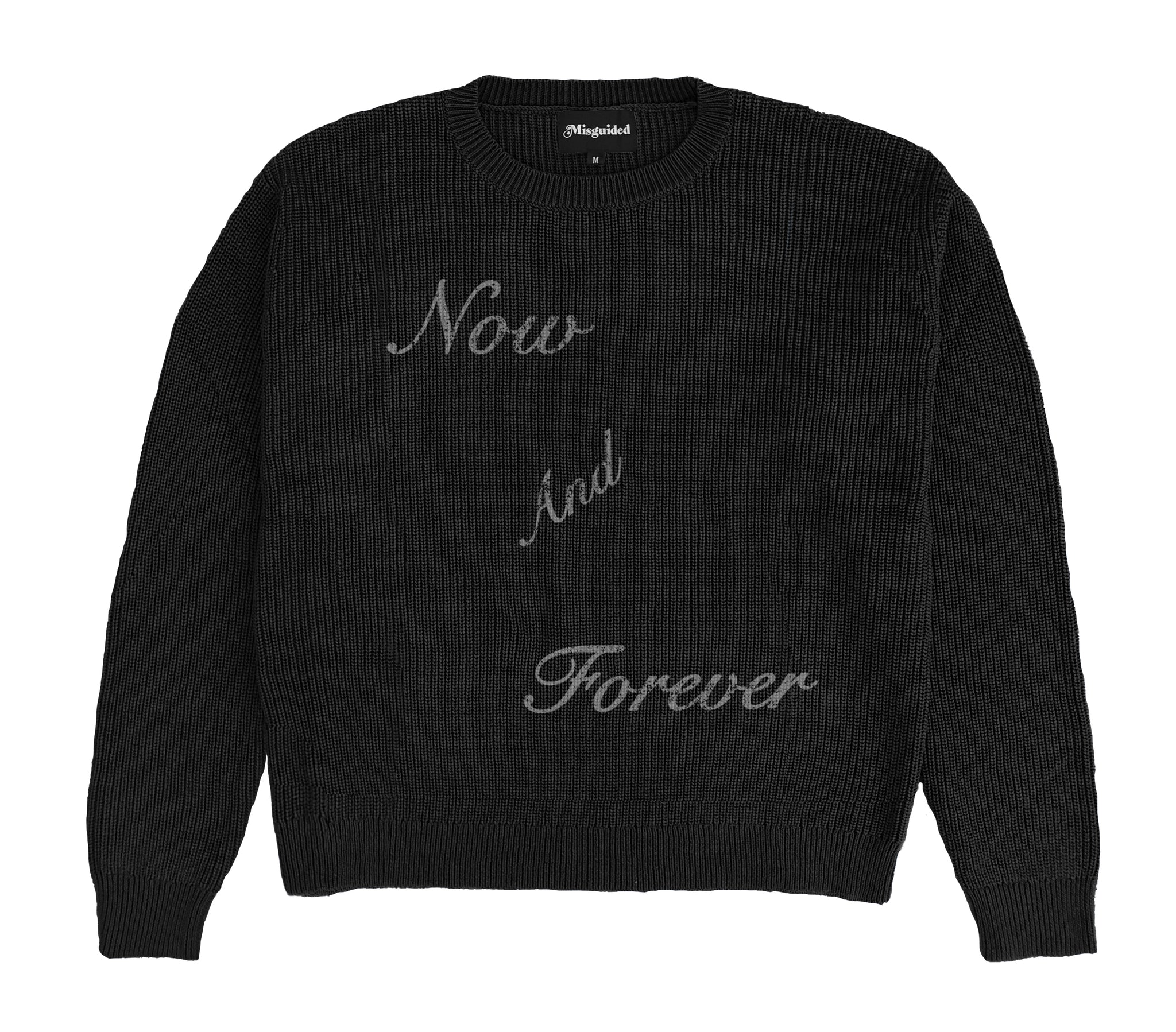 Now and Forever Sweater (Black)