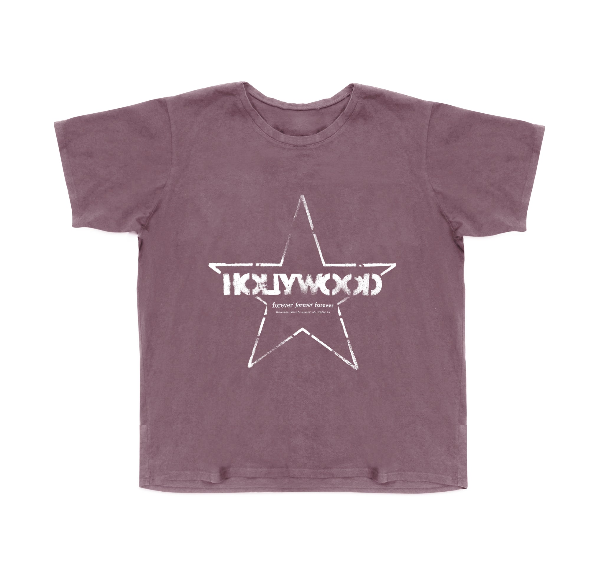Hollywood Tee (Wine)