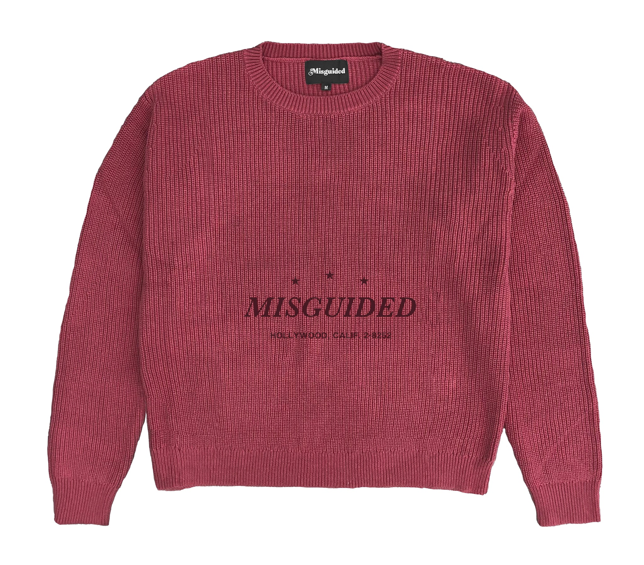 Logo Sweater (Burnt Red)