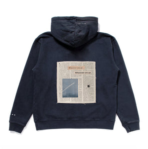 Wherever You Go Hooded Sweatshirt (Navy)