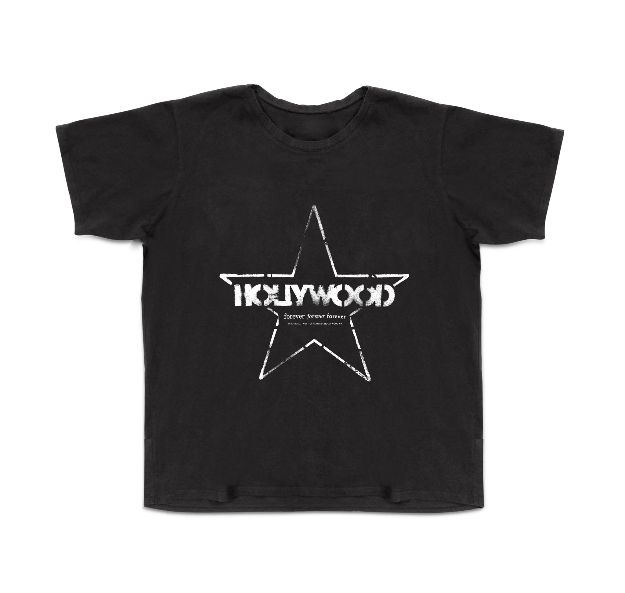 Hollywood Tee (Black)