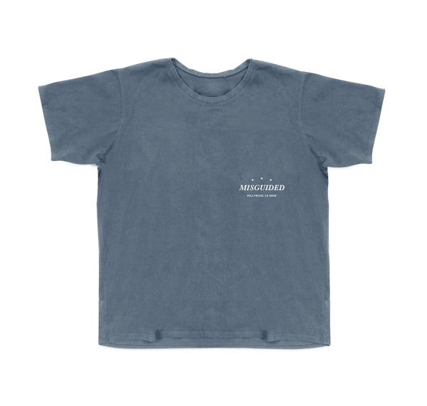 Logo Tee (Denim)