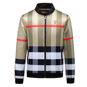 Plaid Outline Designer Jacket