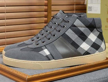 Plaid Design Shoes
