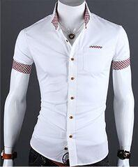 Casual Short Sleeve Buttonups