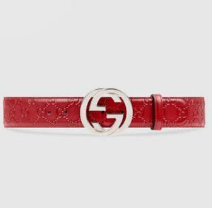 GG Special Color Leather Belts